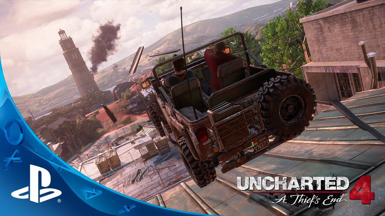 E3 2015 Uncharted 4 Vehicle Chase Gameplay Playstation Blog