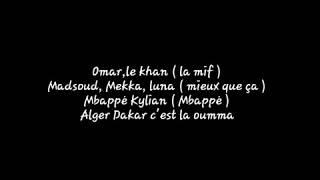 Medine Feat Booba    KYLL    Parole Lyrics