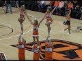 OSU Cheerleaders & Pom Squad at Oklahoma State Basketball Game