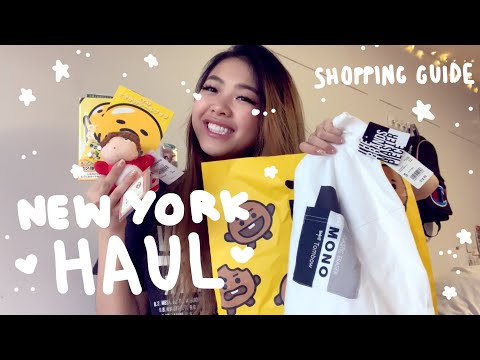 💫New York Haul!💫 | Guide To Shopping | Tiffany Weng
