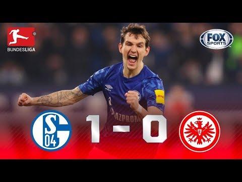 VITÓRIA HEROICA! Veja os melhores momentos de Schalke 1 x 0 Frankfurt pela Bundesliga