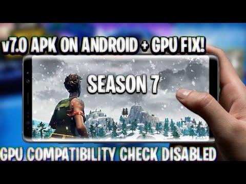 Fortnite Mobile for unsupported devices APK(v6 01