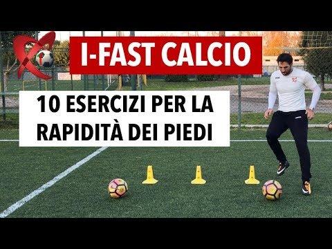Come migliorare la rapidità nel calcio / 10 esercizi per la rapidità dei piedi