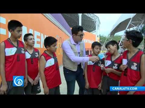 Conoce a los niños chimalhuacanos que representan al Estado de México en la categoría infantil de básquetbol