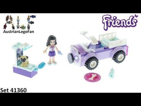 Vidéo LEGO Friends 41360 : La clinique vétérinaire mobile d'Emma