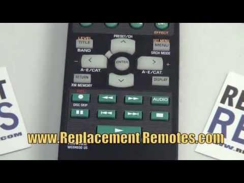 YAMAHA RAV322 Audio/Video Receiver Remote Control