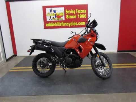 2022 Kawasaki KLR 650 in Wichita Falls, Texas - Video 1