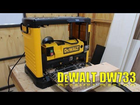 Como usar un cepillo de banco - DeWalt DW733