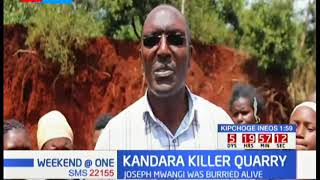 Man killed in a quarry in Murang'a