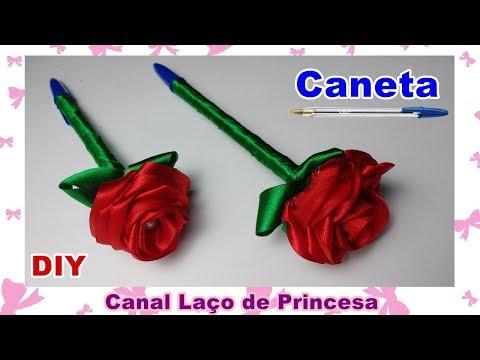 Caneta com Flor