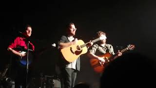Bear's Den Sophie Accoustic (2nd half) Barrowlands Glasgow 13th April 2019