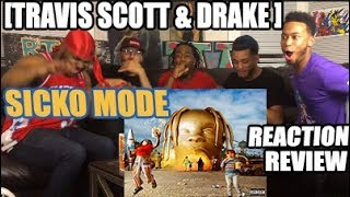 TRAVIS SCOTT FT DRAKE   SICKO MODE REACTIONREVIEW ASTROWORLD