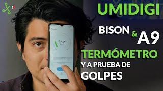 UMIDIGI A9 y Bison, UNBOXING en México: CELULAR con TERMÓMETRO