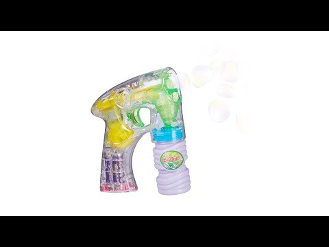 relaxdays LED Bubble Gun