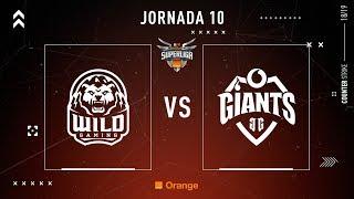 Wild Gaming VS Vodafone Giants   Jornada 10   Temporada 2018/2019