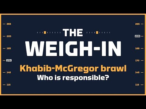 Khabib-McGregor UFC 229 Brawl: Who's Responsible? | The Weigh-in: Episode 452