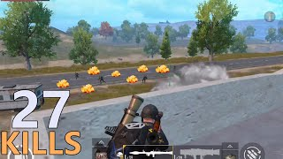 DEFENSIVE BEST HOUSE | 27 KILLS PAYLOAD MODE | PUBG MOBILE