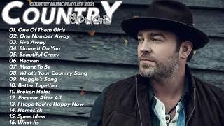 New Country Music 2021 ♪ Chris Stapleton, Kane Brown, Luke Combs, Thomas Rhett, Jason Aldean, Wallen