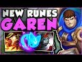Download Youtube: WTF? WHY DOES GAREN E + AERY DO THIS MUCH DMG? NEW GAREN TOP GAMEPLAY SEASON 8! - League of Legends
