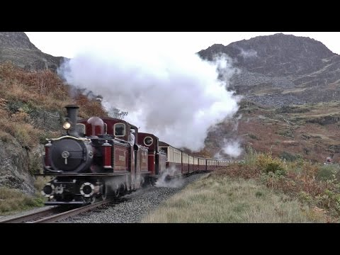 Autumn on the Ffestiniog Railway 27th October 2016