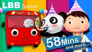 Party Bus | And Lots More Original Kids Songs | From LBB Junior!