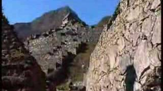The legendary lost city of Machu Picchu