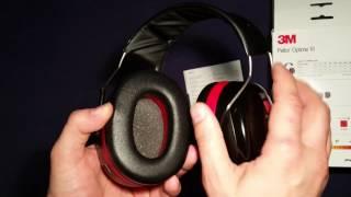 Review, Beurteilung, Test von 3M Peltor Optime III H540A Gehörschützer.
