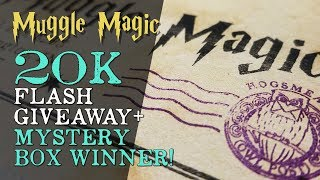 20K Flash Giveaway + Mystery Box Winner!