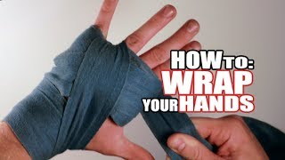 How to Wrap Your Hands for Boxing, Kickboxing, and Muay Thai