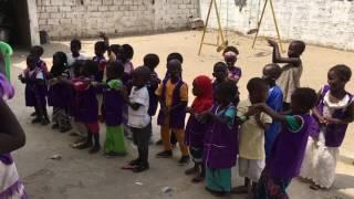 La danse du lavage des mains (vidéo)