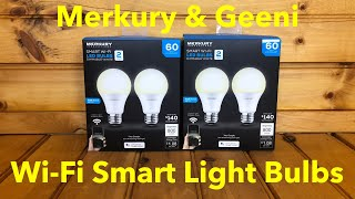 The Cheapest Smart Wi-Fi Light Bulbs That Actually Work? Merkury Innovations!