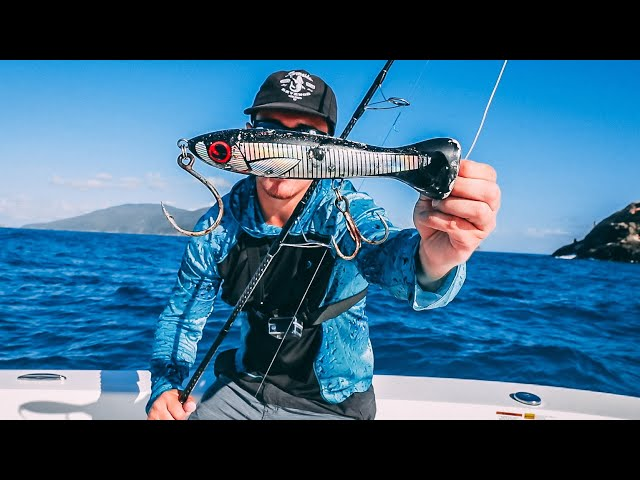 CATCHING MONSTER FISH WITH GIANT TOPWATERS