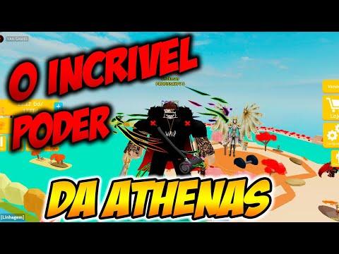 ROBLOX Lifting Simulator o  SUPER Poder da ATHENAS Muito FORTE