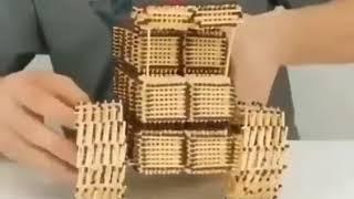 Поделки из спичек
