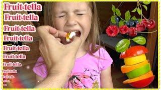 УГАДАЙ ВКУС ЖЕЛЕ КОНФЕТЫ ФРУКТОВЫЙ МИКС Челлендж Фрутелла / Fruittella Challenge