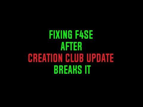F4SE UPDATED! F4SE