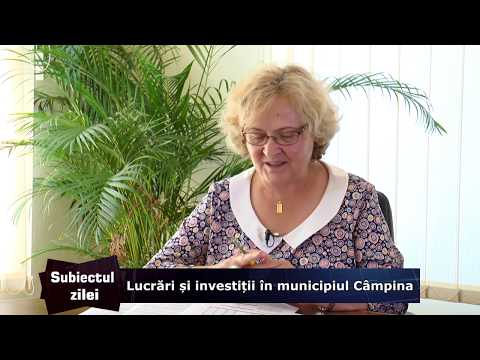 Subiectul Zilei – Lucrări și investiții în municipiul Câmpina