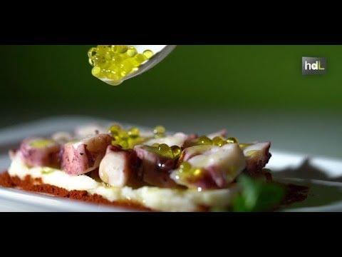 José Sánchez, un caviar de perlas de aceite de oliva