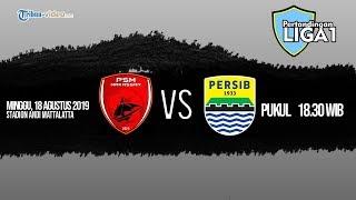 Sedang Berlangsung Live Streaming Indosiar Liga 1, PSM Makassar Vs Persib Bandung