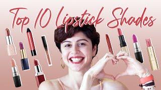 My Top 10 Favourite Lipstick Shades 💋