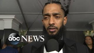 Grammy Nominated Rapper Nipsey Hussle Killed In Shooting