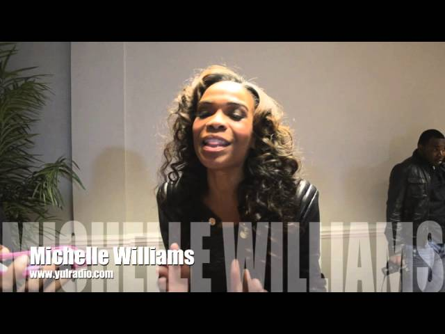 Michelle Williams gives YUL Radio a special shout out!