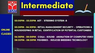 T-SAT || INTERMEDIATE ONLINE CLASSES || TSBIE || 26.02.2021