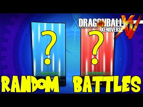 Dragon Ball Xenoverse Online: Random Selected Mystery Bag Battle! WTF is a Guprei?!