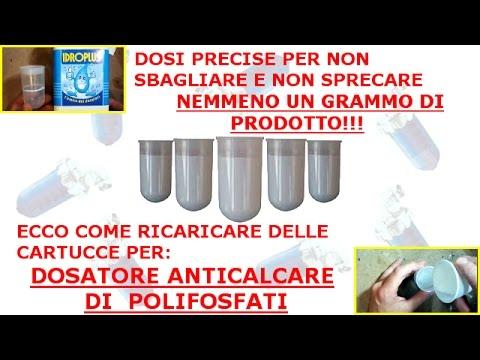 Ricarica cartucce per Dosatore Anticalcare di Polifosfati