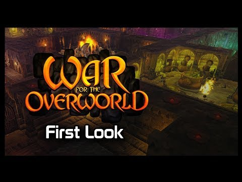 War for the Overworld - First Look (видео)