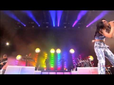 Jessie J - Rainbow Live @ T in the Park 2012