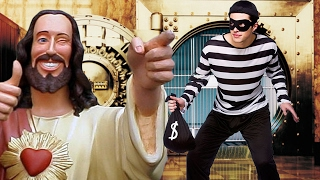 MAN GETS CAUGHT STEALING $7 BILLION FROM A BANK FOR JESUS