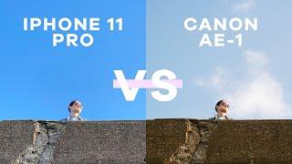 IPhone 11 Pro Camera VS Canon AE-1 | Analog 35mm Film Camera!