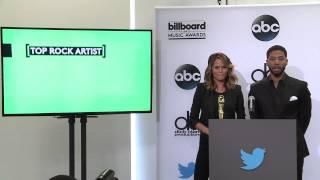 Top Rock Artist Finalists - BBMA Nominations 2015